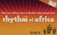 Rhythm of Africa returns this summer to Werribee Open Range Zoo!