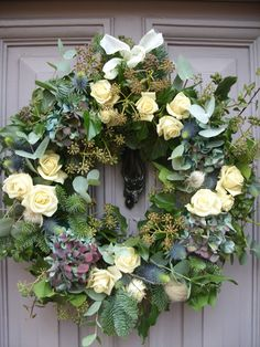 Seasonal flowers are always available in our barn shop at Foxtail Lilly. All our fresh grown flowers have a wild feel bringing the countryside into your home. Christmas Door Wreaths, Christmas Flowers, Autumn Wreaths, Christmas Decorations, Funeral Flowers, Wedding Flowers, Flower Wreath Funeral, Wreaths And Garlands, Floral Wreaths