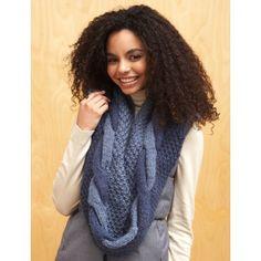 2 Color Cowl - Knitting Patterns - Patterns | Yarnspirations
