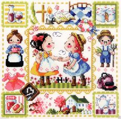 """""""Anne of Green Gables"""" Counted cross stitch chart. For a special friendship."""