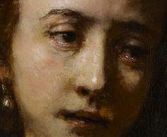 Rembrandt van Rijn, Lucretia (Detail), 1666