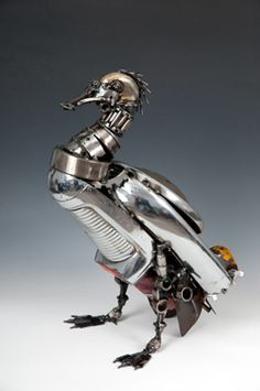 Pin by Kevin Smokler on Found Object Sculpture | Pinterest