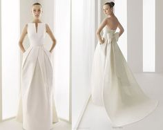 Mod wedding gown with POCKETS!!!   <3. <3. Maybe with sweet heart neckline <3