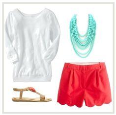 beach attire