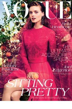 Vogue Australia September by Will Davidson. Vogue Australia August by Paolo Roversi. Vogue Magazine Covers, Fashion Magazine Cover, Fashion Cover, Vogue Covers, Love Fashion, Fashion News, High Fashion, Fashion Bella, Fashion Design