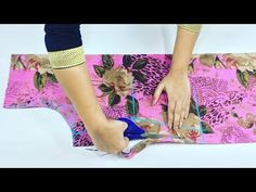 Beautiful kurti design With Front Open Drafting Cutting and Stitching - YouTube