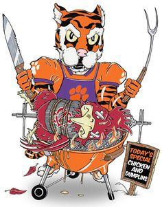 Clemson Tiger vs South Carolina Gamecock