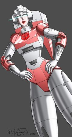 Transformers Arcee model by AndyPurro by AndyPurro on DeviantArt Transformers Characters, Transformers Optimus Prime, Transformers Generation 1, Transformer 1, Arte Robot, Robot Girl, Old Video, The Incredibles, Superhero