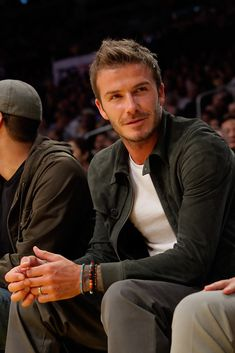 David Beckham-Yum, Victoria is one lucky woman!