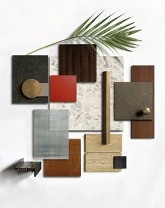 A Pelizzari Studio's new project in a house! Interior Design Classes, Interior Design Boards, Moodboard Interior Design, Mood Board Interior, Material Board, Design Palette, Colour Board, Colour Schemes, Textures Patterns