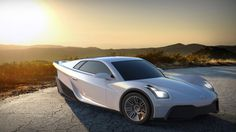 Last year, an entrepreneur named Storm Sondors launched an IndieGogo crowd funding campaign for an electric. Best Electric Car, Electric Cars, Moto Car, Reverse Trike, Retro Futuristic, Car Wheels, Bike Design, Tricycle, T Rex