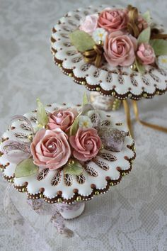 3-D Wedding Bouquets | Cookie Connection