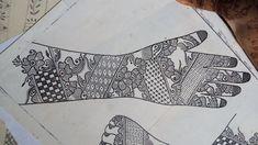 Indian Henna Designs, Mehndi Designs Book, Mehndi Design Pictures, Dulhan Mehndi Designs, Mehndi Images, Tattoo Designs, Mehndi Book, Hand Mehndi, Eid Mubarek
