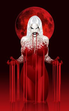 VAMPERE~RED VAMPIRE MOON by justinblong on deviantART