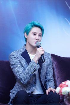 [KR PRESS PICS] 150321 XIA Junsu 3rd Asia Tour Concert 'FLOWER' in Bangkok: Press Conference & Concert | JYJ3