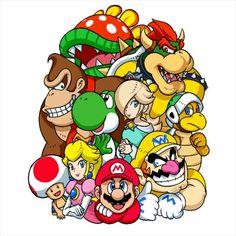 Super Mario Bros, Mundo Super Mario, Bolo Super Mario, Super Smash Bros, Kids Cartoon Characters, Cartoon Art, Cute Girl Costumes, Unique Gifts For Girlfriend, Unique Anniversary Gifts