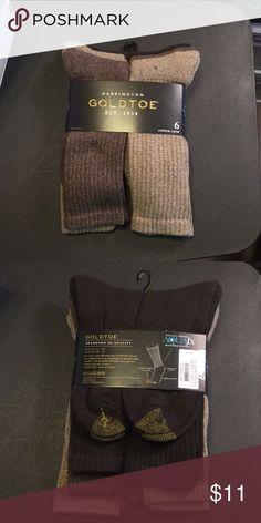 Harrington Gold Toe Socks 6-Cotton crew Underwear & Socks Dress Socks