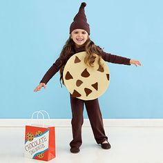 Homemade Halloween Costumes for the Perfect Pair of Kids: Cookies Costume (via Parents.com)