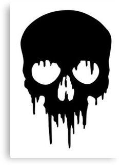 skull art black and white - skull art ; skull art black and white Cow Skull Tattoos, Pirate Skull Tattoos, Bird Skull Tattoo, Skull Tattoo Design, Skull Design, Punisher Skull Tattoo, Skull Artwork, Skull Painting, Skull Drawings