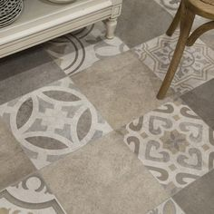 SomerTile 13.125x13.125-inch Asturias D cor Jet Mix Ceramic Floor and Wall Tile (Case of 9) | Overstock.com Shopping - The Best Deals on Floor Tiles