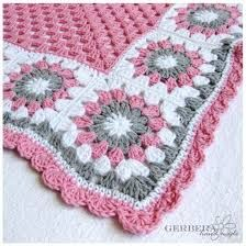 Image result for granny square pink and grey