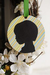 Silhouette Ornaments - 3 Ways #Christmas