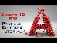 Cinema 4D R18 Particle Emitters Tutorial | Cinema 4D R18 Tutorial for Beginner - YouTube