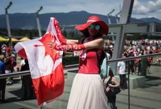 IN PHOTOS: How Canada Day 2019 was celebrated from coast to coast John Tory, Centennial Park, Patriotic Outfit, Woman Smile, Justin Trudeau, Canada Day, Cn Tower, Montreal, Ontario