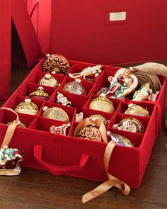 Christmas Ornament Storage Boxes - On Sale Now | $89.00