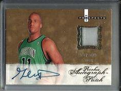 Glen Davis 07/08 Hot Prospects Autograph Game Jersey Patch Rookie #548/599