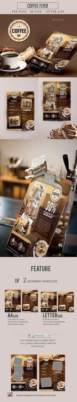 ◟ [Get Free]▬ Coffee Flyer Arabica Bakery Bar Bean Bistro Breakfast Coffee Market, Coffee Shop, Cappuccino Coffee, House Coffee, Coffee Coffee, Menu Design, Food Design, Flyer Design, Coffee Advertising