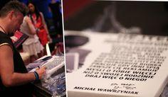 #Hejter najtańszy przedstawiciel Twojego biznesu... kupując #mentalframe na szkoleniu można było liczyć na autograf Michała
