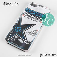 rockstar energy drink xdurance Phone case for iPhone 4/4s/5/5c/5s/6/6 plus