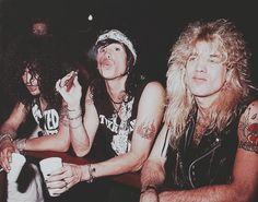 Immagine di slash, steven tyler, and steven adler