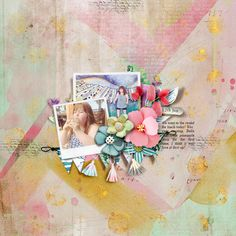 lgrieveson_tnp_scrapstack9TRACY Tracy Martin, Painted Paper, My Scrapbook, Digital Scrapbooking, First Love, Make It Yourself, Gallery, Creative, Painting