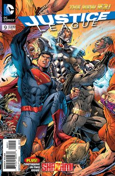 Comic Review: JUSTICE LEAGUE #9