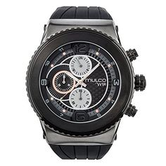 Mulco 106 Collection Black Silicone Band * Details can be found by clicking on the image.