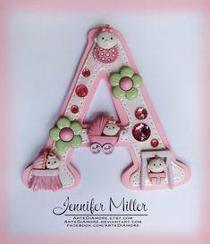 baby shower cakes for girls pictures | Girl Baby Shower Cake Topper by ~ArteDiAmore on deviantART
