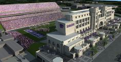 AECOM - Architecture - Market Sectors - Sports + Venues - Stadiums - Kansas State University Bill Snyder Family Stadium Expansion and Renovation