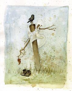 https://flic.kr/p/28Ji8e | A bird on top | This one has shoes.