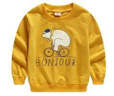 Bicycling Bear - Mustard