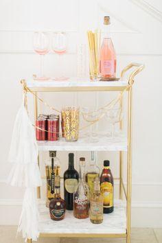 Ikea Hack: DIY Mini Bar Cart