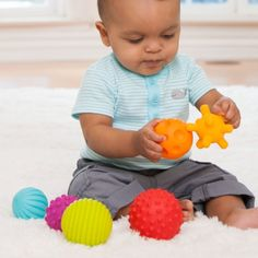 Amazon.com : Infantino Textured Multi Ball Set : Baby Touch And Feel Toys : Baby