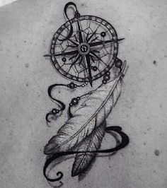 Dream catcher tattoo cute tattoo cute tattoo rose dreamcatcher tattoo on arm Tattoo Plume, Atrapasueños Tattoo, Feather Tattoos, Tattoo Quotes, Feather Quotes, Lion Tattoo, Epic Tattoo, Tattoo Wolf, Arrow Tattoos