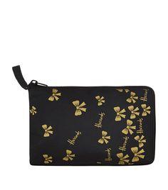 Souvenirs: Harrods Shopper Bags Harrods Gold Bow Pocket Shopper