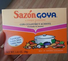 JUST SAY NO to Sazón… and make your own! | Muscle Fuel/Mind Fuel