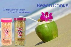 .Apricot Ginger and Tropical Mango