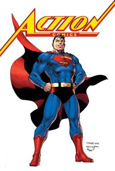 Superman Homepage - Everything you ever wanted to know about the Man of Steel. Justice League Animated Movies, Comic Book Covers, Comic Books, Action Comics 1000, Superman News, Superman Stuff, Jim Lee Art, Comic Art Community, Superhero Villains