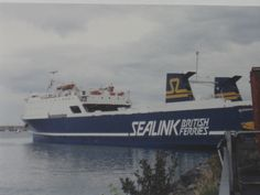 The Rise and Fall of Sealink Ferries by Ferry Crossings. Sealink Ferry Dun Laoghaire 1989.