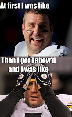 Hahaha. Even funnier cause I absolutely hate the Steelers!
